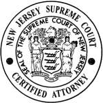 supreme court of nj certified attorney logo