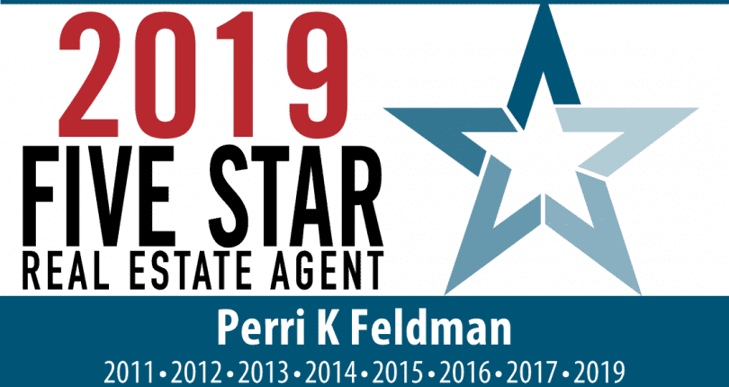 Perri K Feldman Receives 2019 Five Star Award