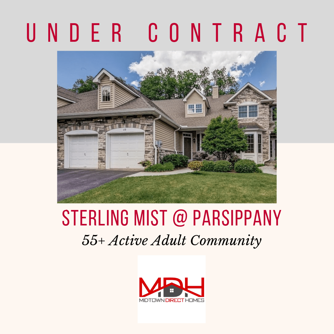 119 Schindler Court, Parsippany, NJ is Under Contract