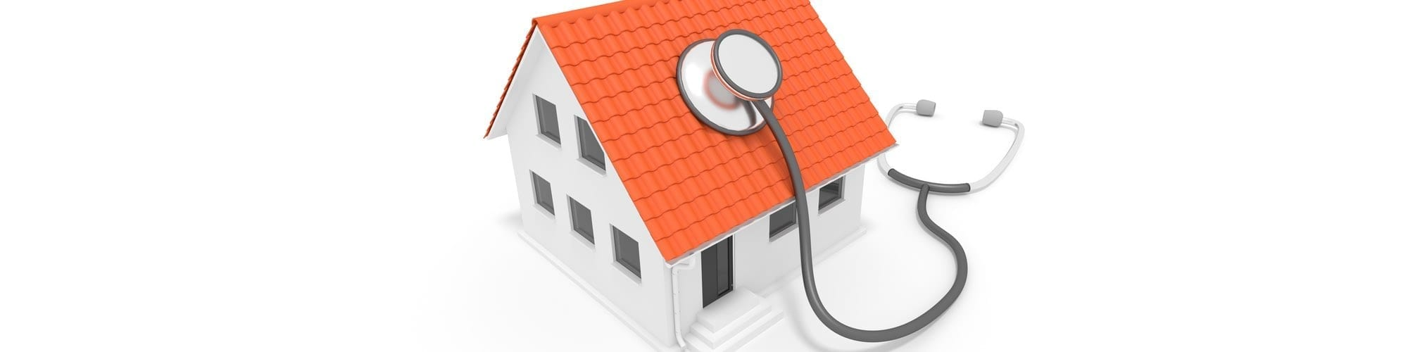 Building with stethoscope