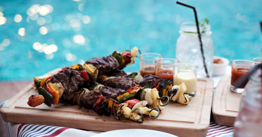BBQ by the Pool: Smoke up the Grill for a Texas Barbecue by Your Cedar Park Pool