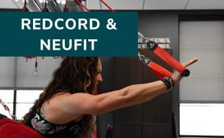 Redcord and NeuFit mega menu
