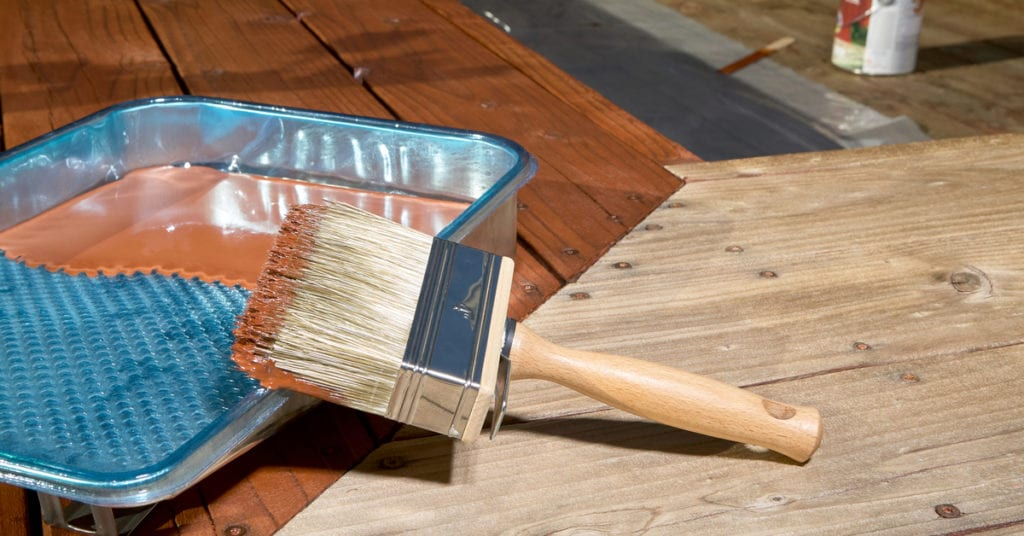 staining an old deck: a complete guide