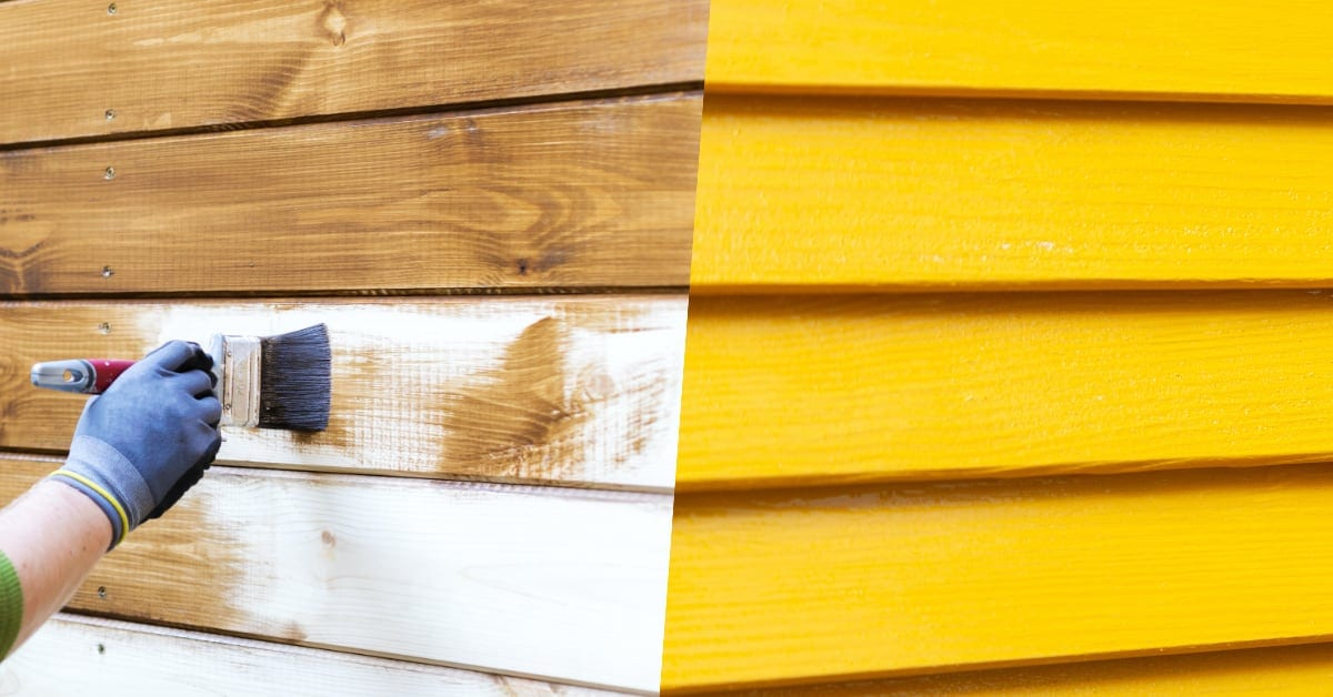 paint vs. stain: which is better for exterior wood