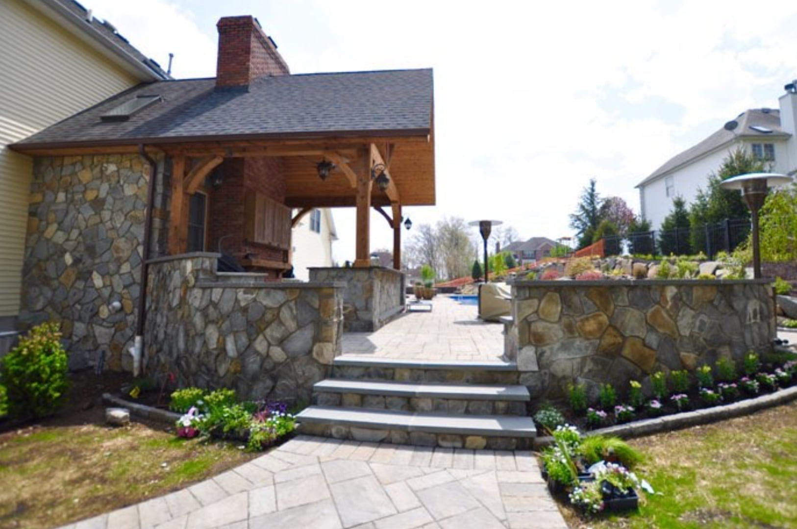 outdoor living, patio cover, decking