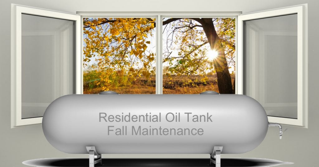 How To Maintain a Residential Fuel Oil Tank during the Fall?