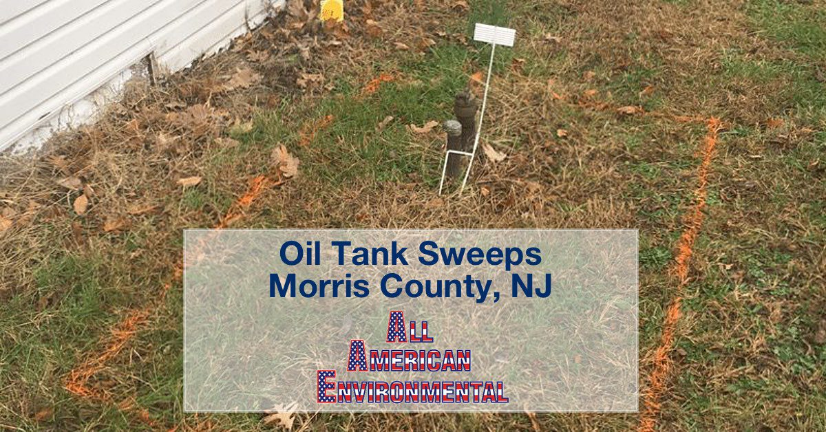 Oil Tank Sweeps in Morris County NJ