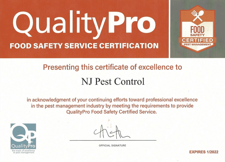 Qualitypro Food Safety Service Certification