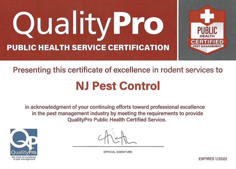 Qualitypro Public Health Service Certification